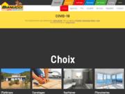 screenshot http://www.bianucci-materiaux.com materiaux de construction gard
