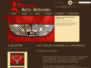 Vente d'oeuvres d'art, d'artisanat africain