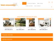 screenshot http://www.bien-ensemble.com immobilier vélizy