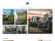 screenshot http://www.bike-lessaisies.com domaine vtt des saisies