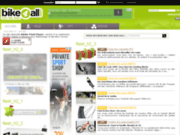screenshot http://www.bike4all.com/vtt/index.php bike4all,site de conseils et d'informations vtt