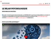 Bilan psychologique Paris