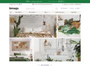 screenshot http://www.bimago.fr tableaux sur toile, variété d'articles déco