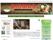 screenshot http://www.biomas.fr biomas - fruits et légumes bio