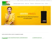 screenshot http://www.bionalo.com Bionalo est revendeur de cheminées et poêles en Vendée