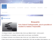 screenshot http://www.bioquantic.eu Thérapeute Quantique