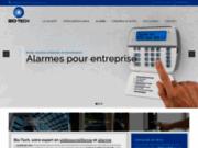 screenshot http://biotech-so.fr biométrie