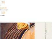 screenshot http://www.bistro-lecandiot.fr Restaurant Le Candiot à Vitré 35