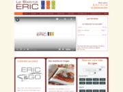 screenshot http://www.bistrot-eric.fr/ Bistrot d'Eric, restaurant de poissons et bar à huîtres