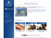 screenshot http://www.bistrotlamontagne.com restaurant paris groupes, bistrotlamontagne