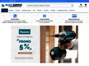 screenshot http://www.blanc-habitat.com radiateur électrique, climatisation, chauffage - vente en ligne