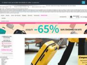 screenshot http://www.bleucerise.com maroquinerie, bagages, sas, samsonite, roxy, quiksilver