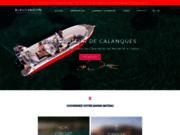 screenshot http://www.bleuevasion.fr excursions calanques marseille