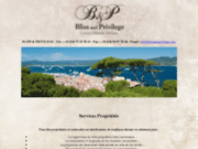 screenshot http://www.Blissandprivilege.com bliss and privilege conciergerie privée