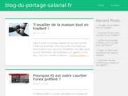 screenshot http://www.blog-du-portage-salarial.fr blog du portage salarial