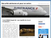 screenshot http://blog-peuravion.fr La sécurité aérienne et la peur en avion