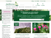 screenshot http://blog.jardincouvert.com/ Blog jardin