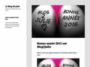 Moi Julie exhib sur mon blog