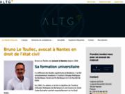 Maître Bruno Le Toullec, Avocat à Nantes en droit de l'état civil