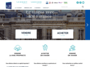 screenshot http://www.bm-finance.fr/ viager sur Paris