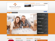 screenshot http://www.bmevolution.fr devis travaux