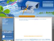 screenshot http://www.bnf-elec.eu Électricité générale nord pas de calais