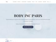 screenshot http://www.body-inc-paris.com amincissement épilation lumière pulsée institut beauté