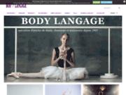 screenshot http://www.bodylangage.fr body langage