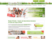 screenshot http://www.bodynsmile.fr/blanchiement-dents-paris.php blanchiment dentaire paris