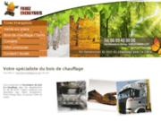 screenshot http://www.bois-chauffage-42.com achat bois de chauffage