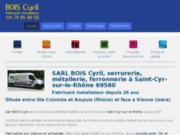 screenshot http://www.boiscyril-fabricantportail.com bois cyril – fabricant portails