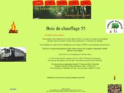 screenshot http://boisdechauffage55.free.fr bois de chauffage moselle, meurthe et moselle,  secteur metz , thionville, pont à mousson
