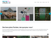 screenshot http://www.bon-plan-paris.net/ bon plan à Paris