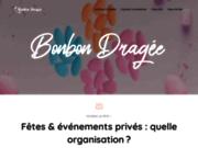 screenshot http://www.bonbondragee.fr dragées - confiserie et produits de patisseries