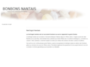 screenshot http://www.bonbons-nantais.com/ boutique berlingots nantes