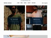 screenshot http://www.bonnegueule.fr blog mode homme