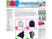 screenshot http://www.bonnets-company.com bonnets