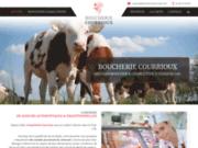 screenshot http://www.boucherie-courrioux.com/ Boucherie