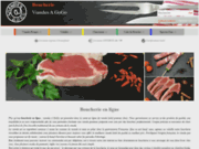 screenshot http://www.boucherieviandesagogo.com Boucherie en ligne
