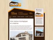 screenshot http://www.bourgogne-ossature-bois.com/ maisons à ossature bois: bourgogne ossature bois, constructeur de maison en bois