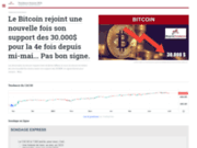 screenshot http://www.bourse-tendance.fr bourse tendance