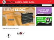 screenshot http://www.boutik-lyon-archerie.com/ arc à poulie