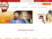 screenshot http://www.boutique-biscuits-abbaye.com boutique de la biscuiterie de l'abbaye