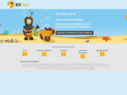 screenshot http://www.boutique-cm.fr candice-mack : boutique de maquillage professionnel en ligne