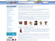 screenshot http://www.boutique-des-marionnettes.com boutique de mationnettes et théâtres de marques,de la marionnette à fils aux marionnettes peluches animaux