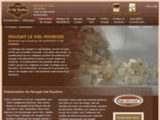 screenshot http://www.boutique-du-nougat.fr/ la boutique du nougat avec fabrication artisanale