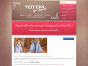 screenshot http://www.boutique-totem.com/ mode femme, namur