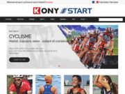 Vêtements techniques pour le cyclisme & Vélo (cuissars,maillots,veste,accessoires) - Boutique KONY