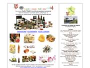 screenshot http://boutiqueos.altervista.org gastronomie italienne pour les professionnels