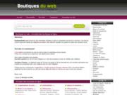 Boutiques du Web, votre blog shopping